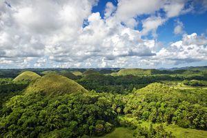 Chocolate Hills, Carmen City, Bohol Island, Philippines