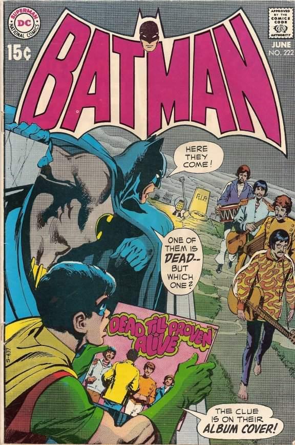 """A """"Batman"""" comic that references """"Paul is Dead"""""""