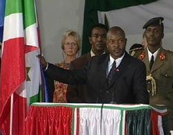 Πρόεδρος Pierre Nkurunziza του Μπουρούντι, & αντίγραφο;  Judith Basutama / IRIN