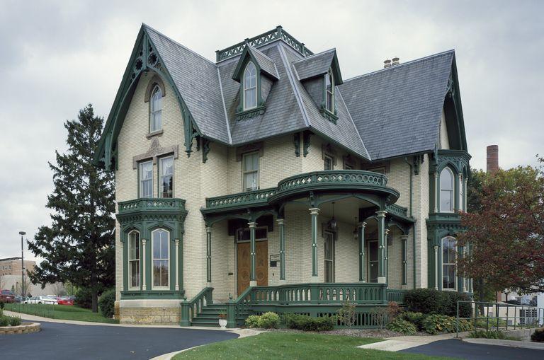 Brick Gothic Revival