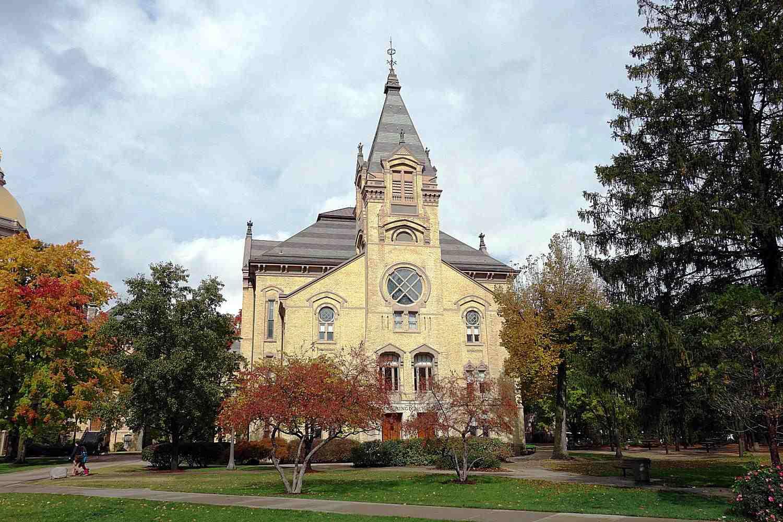 Washington Hall at the University of Notre Dame