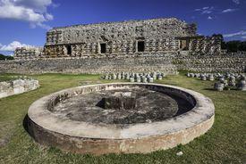 El Chultun, Maya ruins, Kabah, Yucatan, Mexico