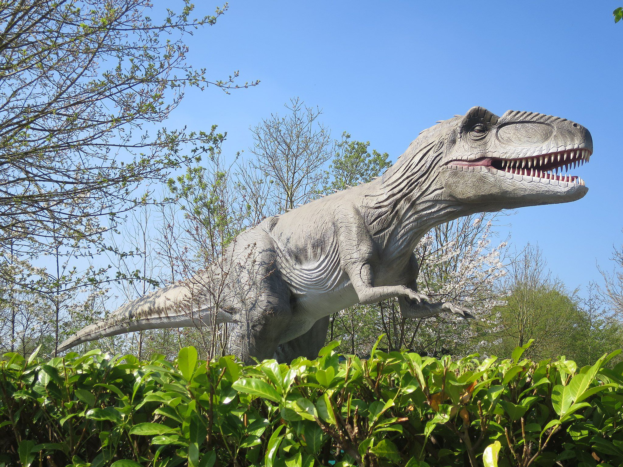 Animatronic Dinosaurs at Gulliver's