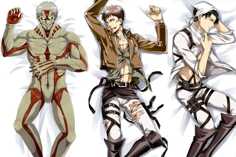 Sexy Attack on Titan Characters