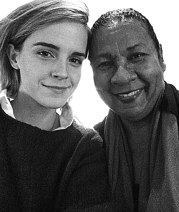 Emma Watson and bell hooks discuss feminism and their mutual admiration for each other.