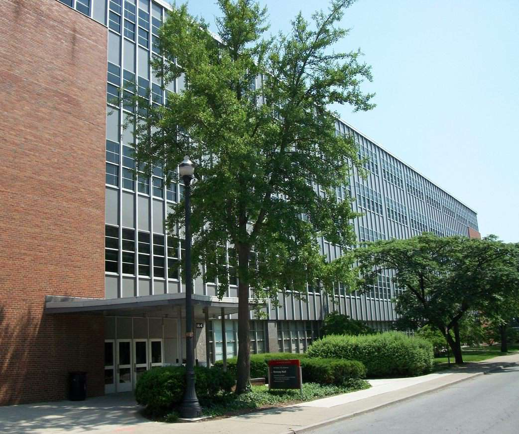 Denney Hall at the Ohio State University