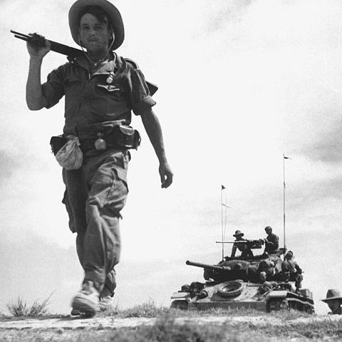 French Foreign Legion Patrol in Vietnam (1954)