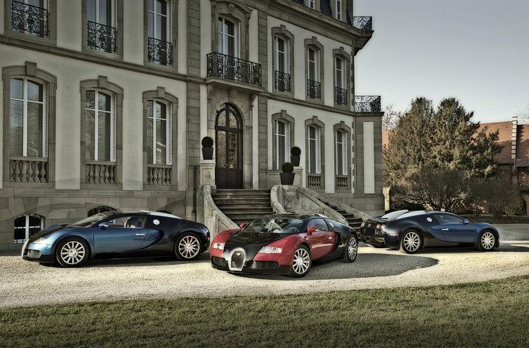 Bugatti super cars