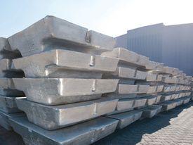 blocks of aluminum