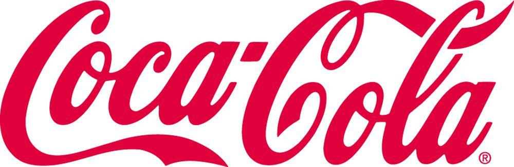 Coca Cola Company Red Spencerian Script