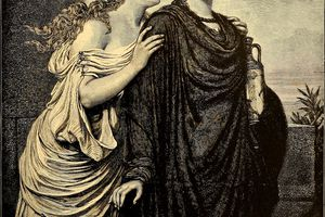 ANTIGONE AND ISMENE from Character sketches of romance, fiction and the drama