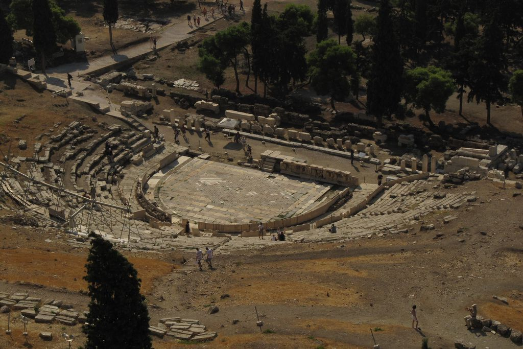 Theater of Dionysus in Athens