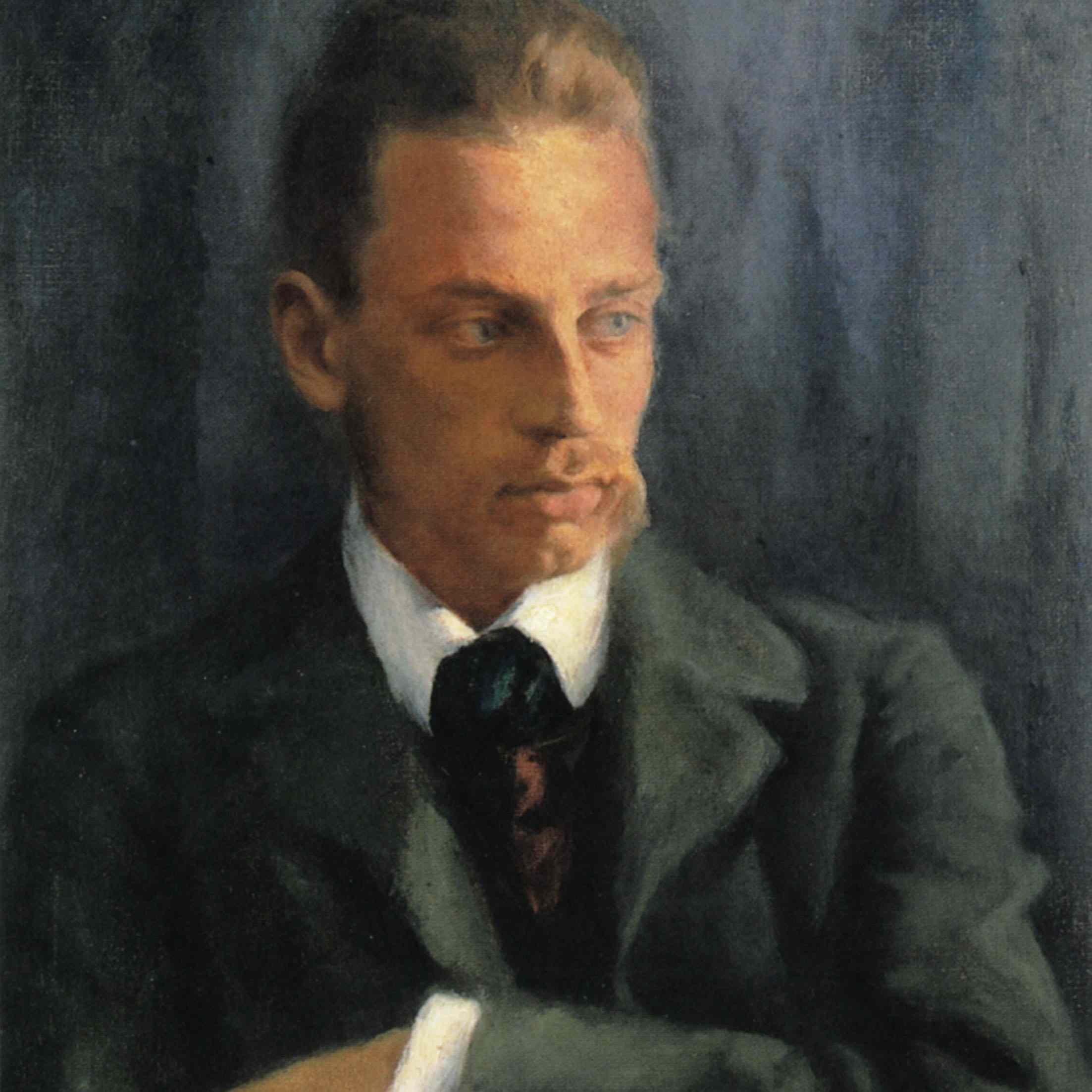 Painting of Rilke