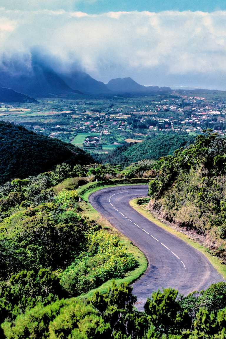 Highway on Réunion Island