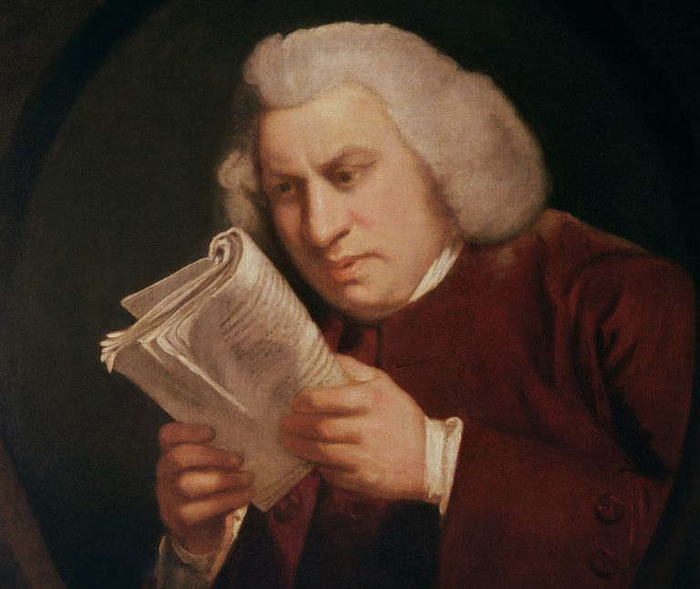 Dr. Samuel Johnson (1709-84) 1775 (oil on canvas)