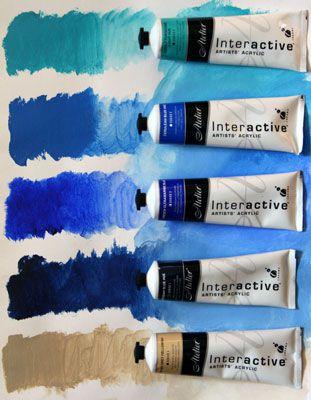 atelier interactive acrylics paint review