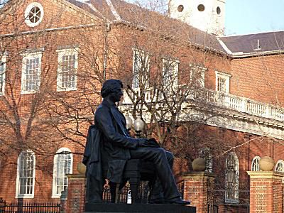 Harvard University Statue of Charles Sumner