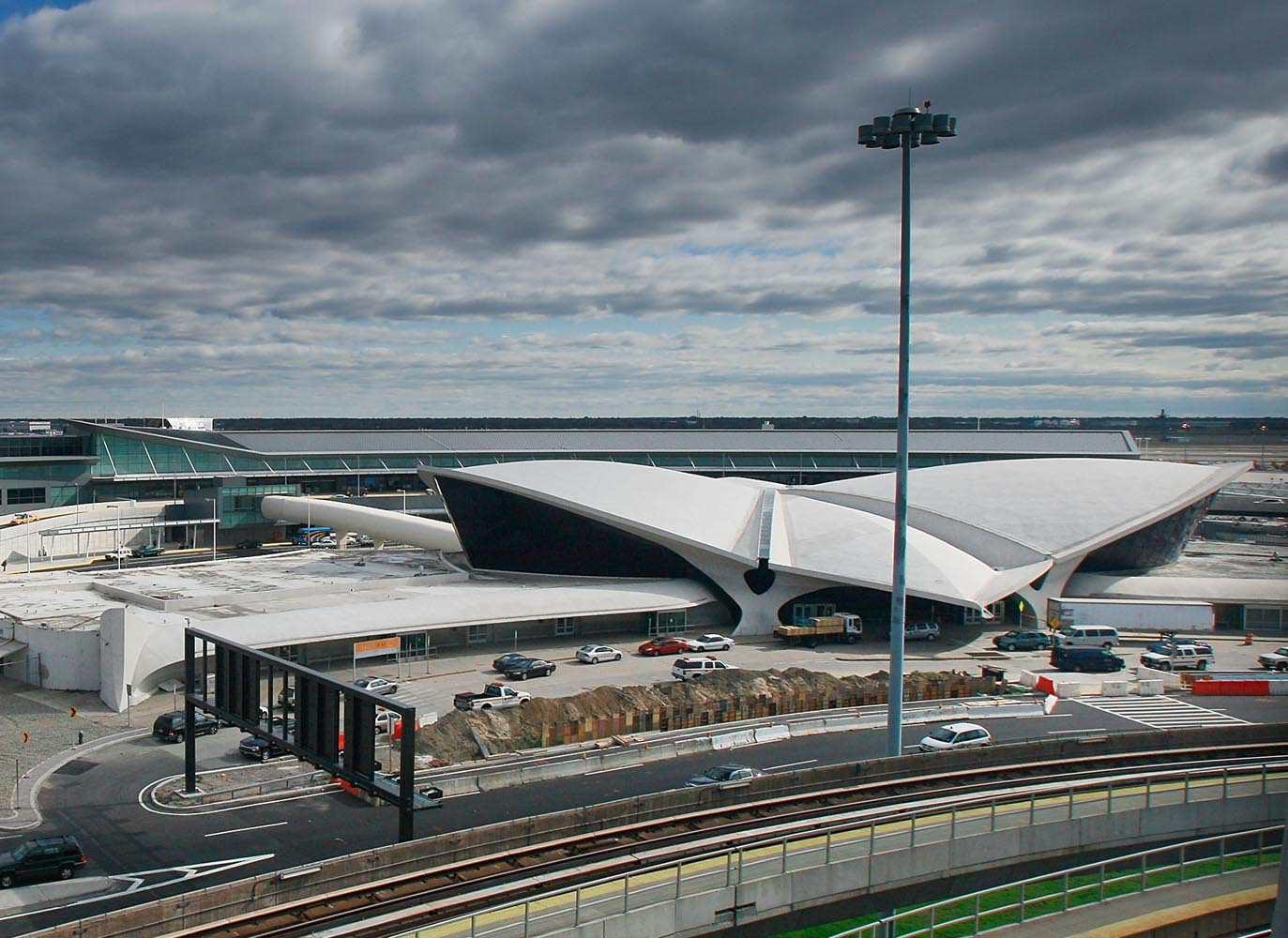 TWA Terminal at JFK Airport by Eero Saarinen