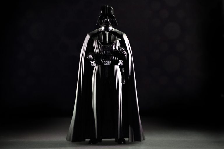 Darth Vader, the iconic Star Wars villain
