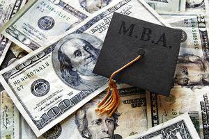 MBA grad cap on cash
