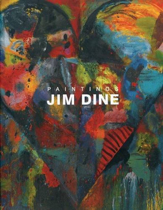 Book of Jim Dine paintings from Pace Gallery by Vincent Katz
