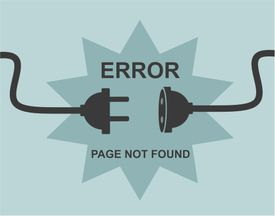 Page not found illustration