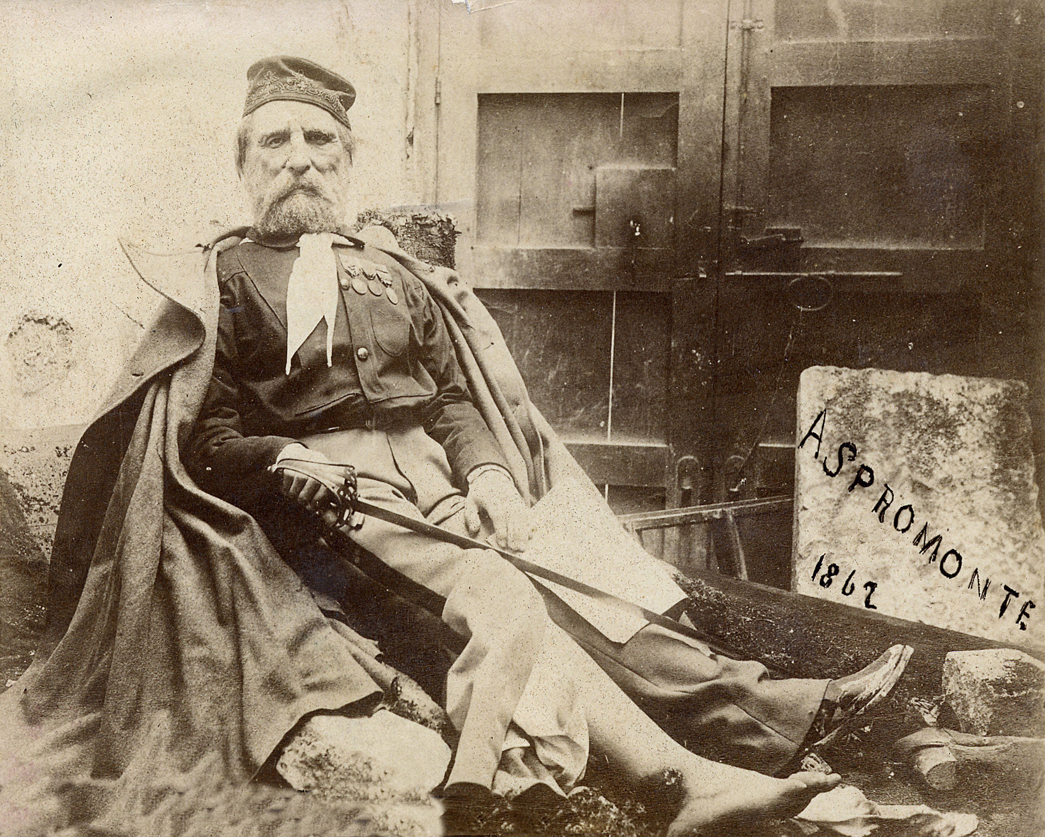 Giuseppe Garibaldi in Aspromonte