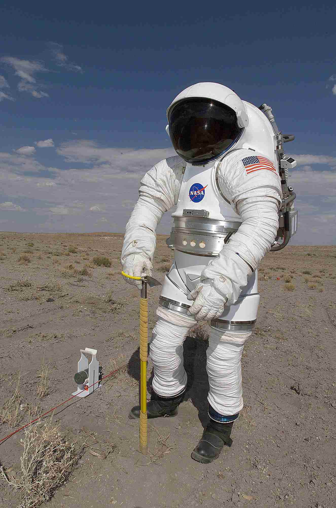 MK III Space Suit