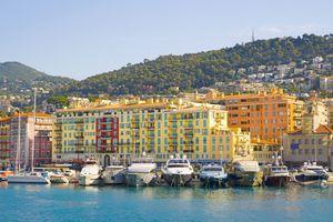 Nice Harbour, Cote d'Azur, France