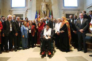 Nobel Peace Laureates at 14th World Summit, 2014, Rome