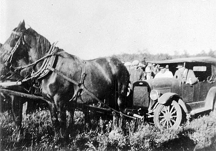 Bennett Buggy in the Great Depression in Canada