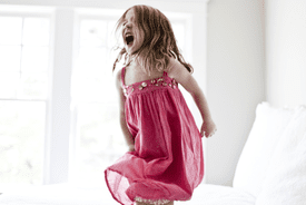 Temper tantrums are one symptom of childhood onset bipolar disorder (COBPD).