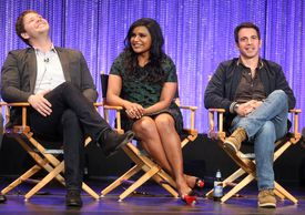 Mindy Kaling and cast on 'Mindy Project'