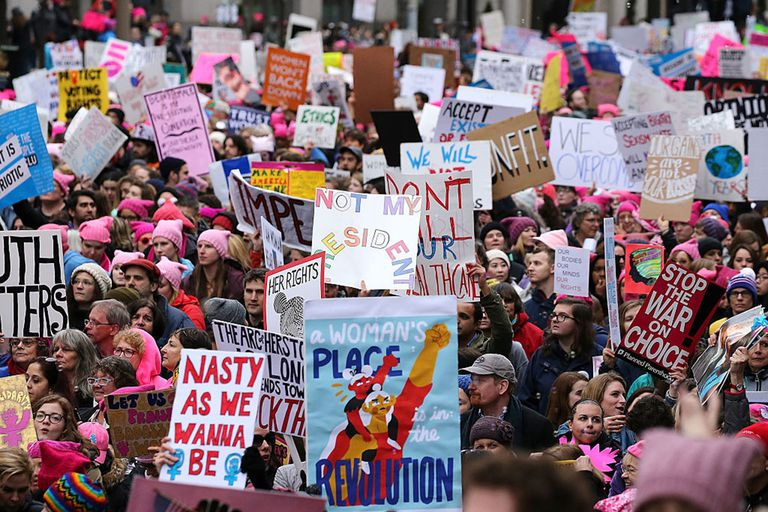 Women march DC
