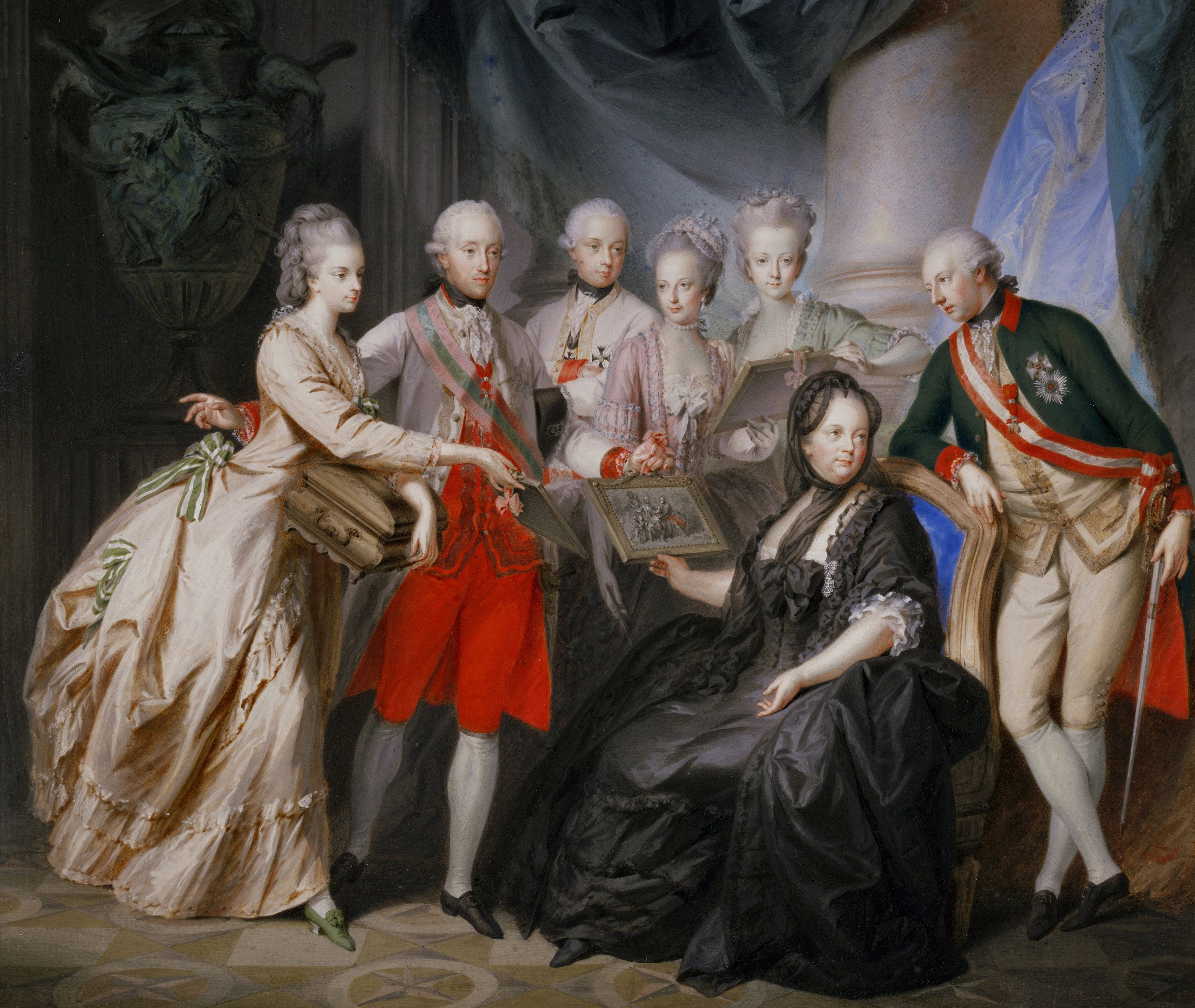 Empress Maria Theresa and her Children