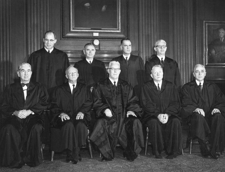 1962 Supreme Court Portrait