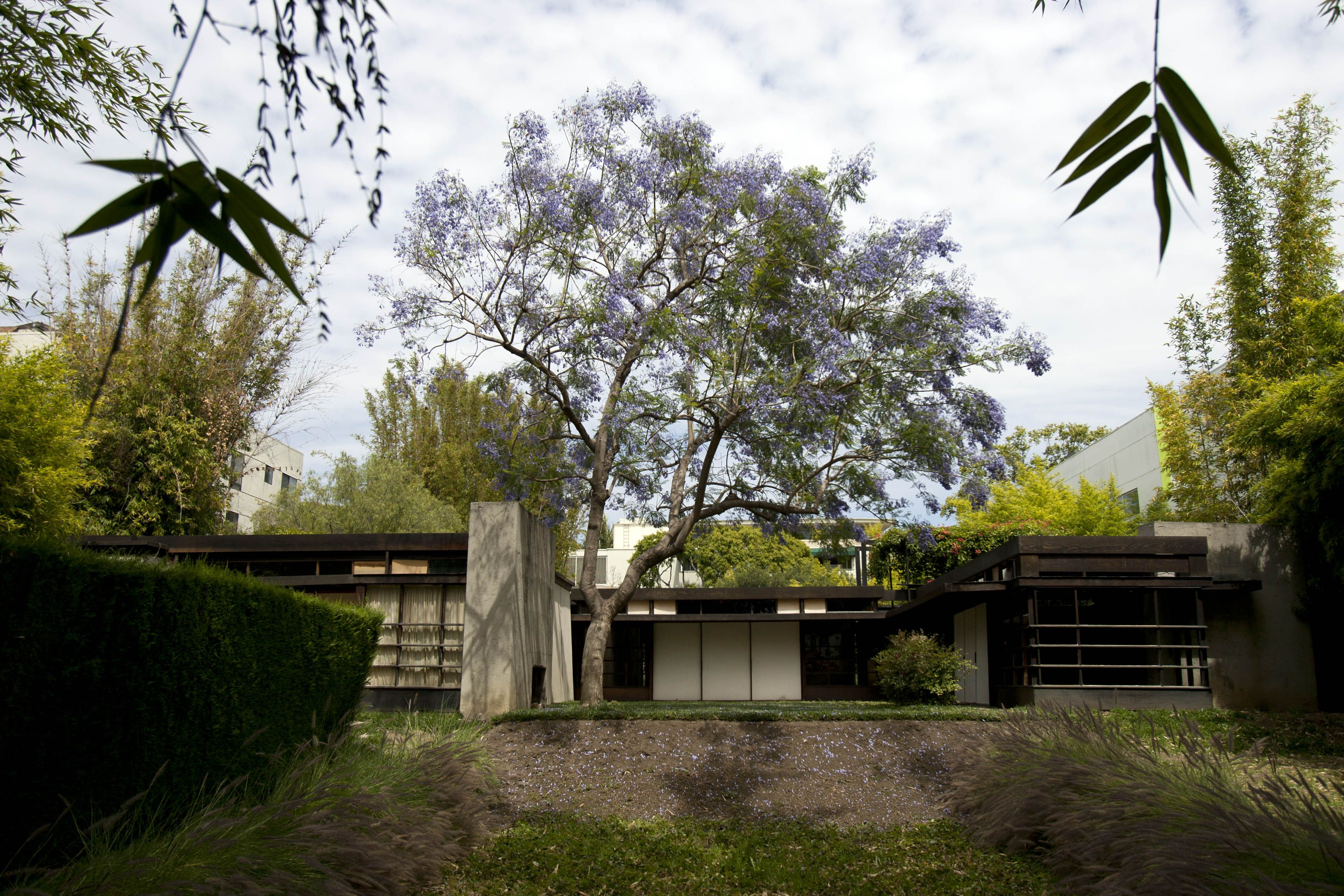 The 1922 Schindler House in Los Angeles, California