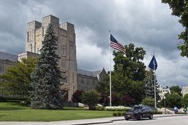 Burruss Hall, Virginia Tech, Blacksburg, Virginia