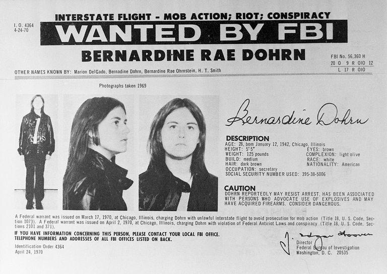Weatherman Bernadine Rae Dohrn