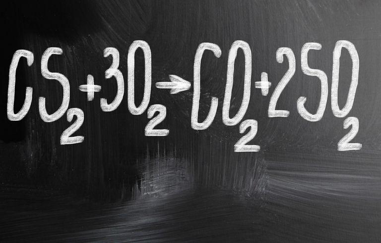 A molecular equation