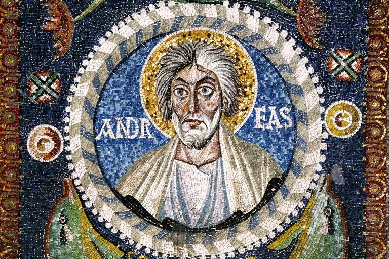 Saint Andrew Mosaic, Basilica of Sant Vitale