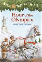 Cover of Hour of the Olympics, a Magic Tree House book