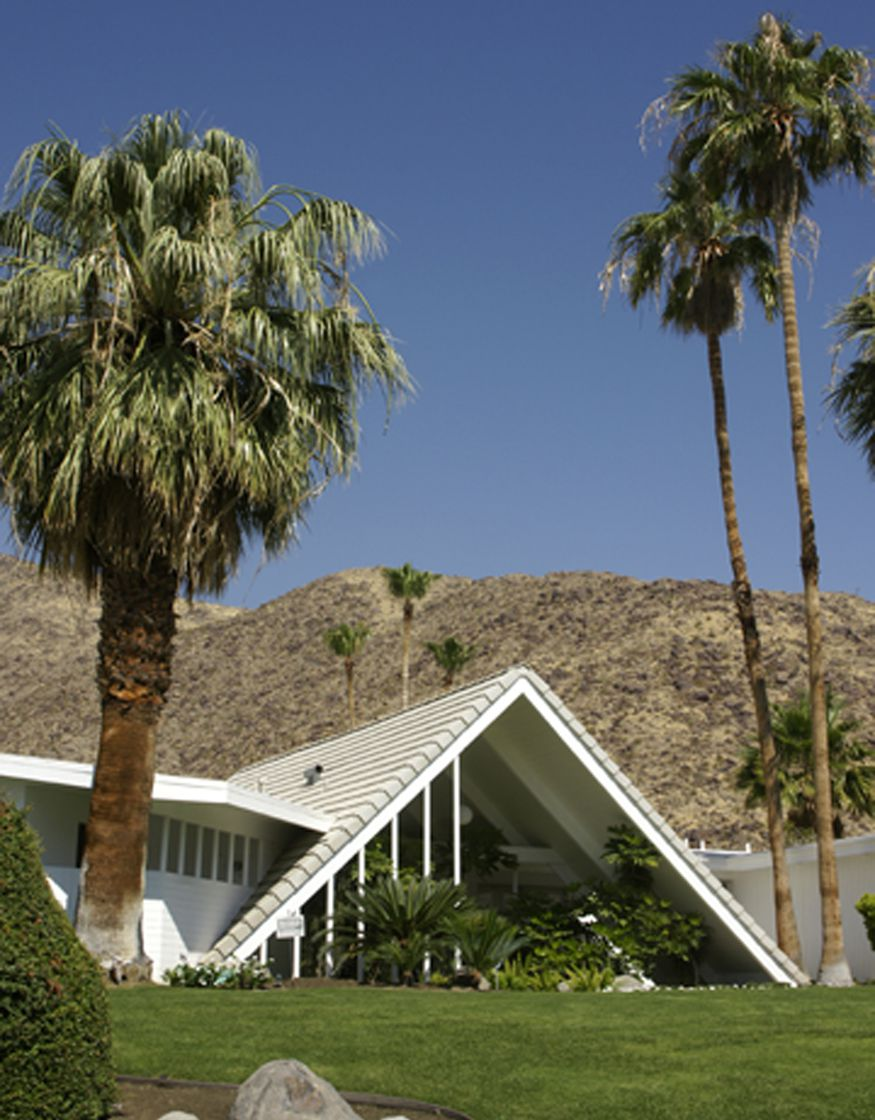 Swiss Miss House in Palm Springs, California
