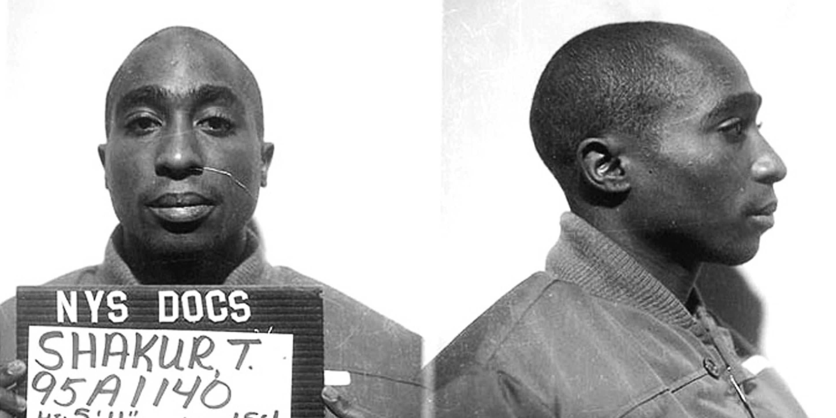 Tupac shakur mugshot criminal history and death
