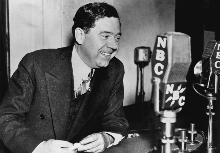 photograph of Depression era populist Huey Long