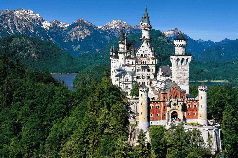 Neuschwanstein Castle in Schwangau, Germany