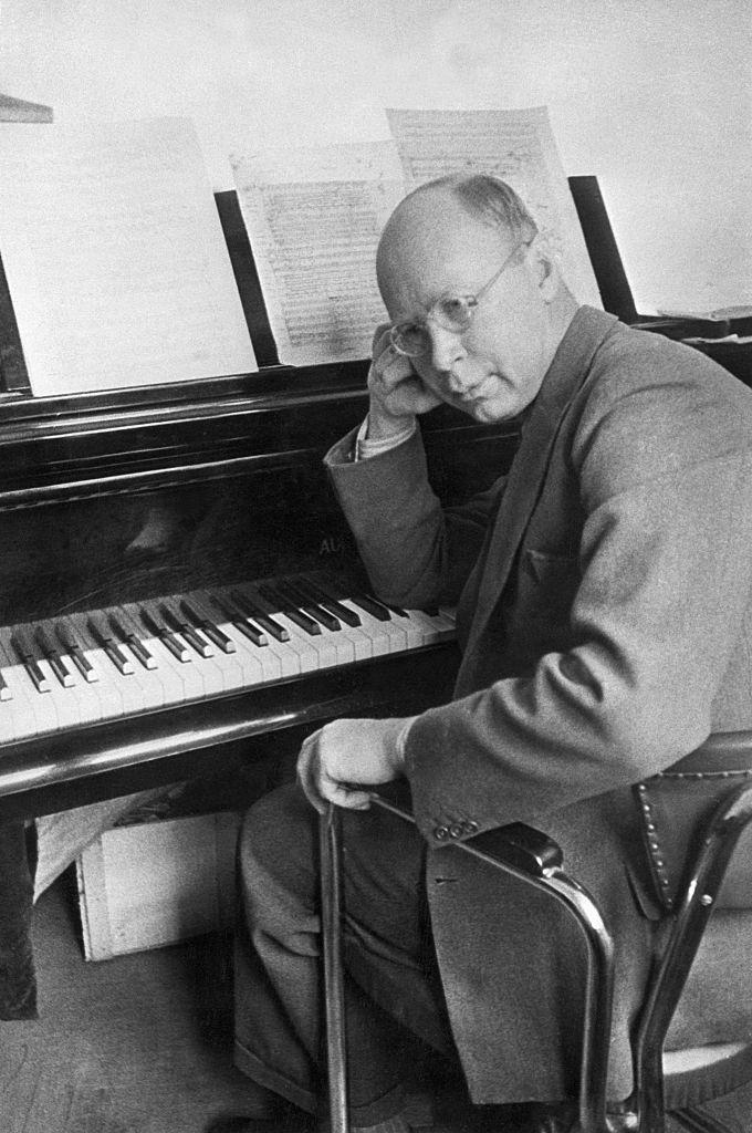 Sergei Prokofiev at Piano