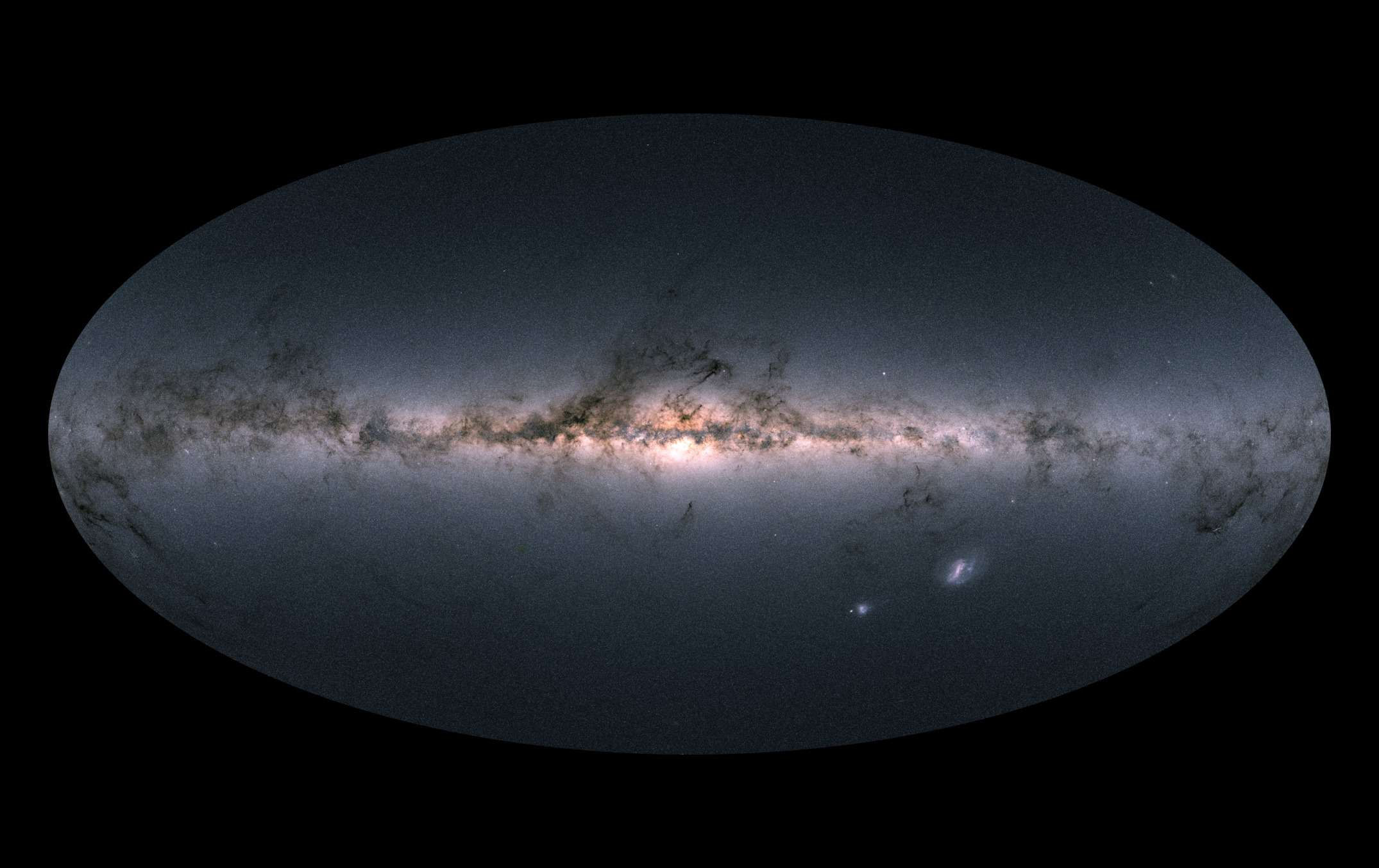 Gaia view of the sky