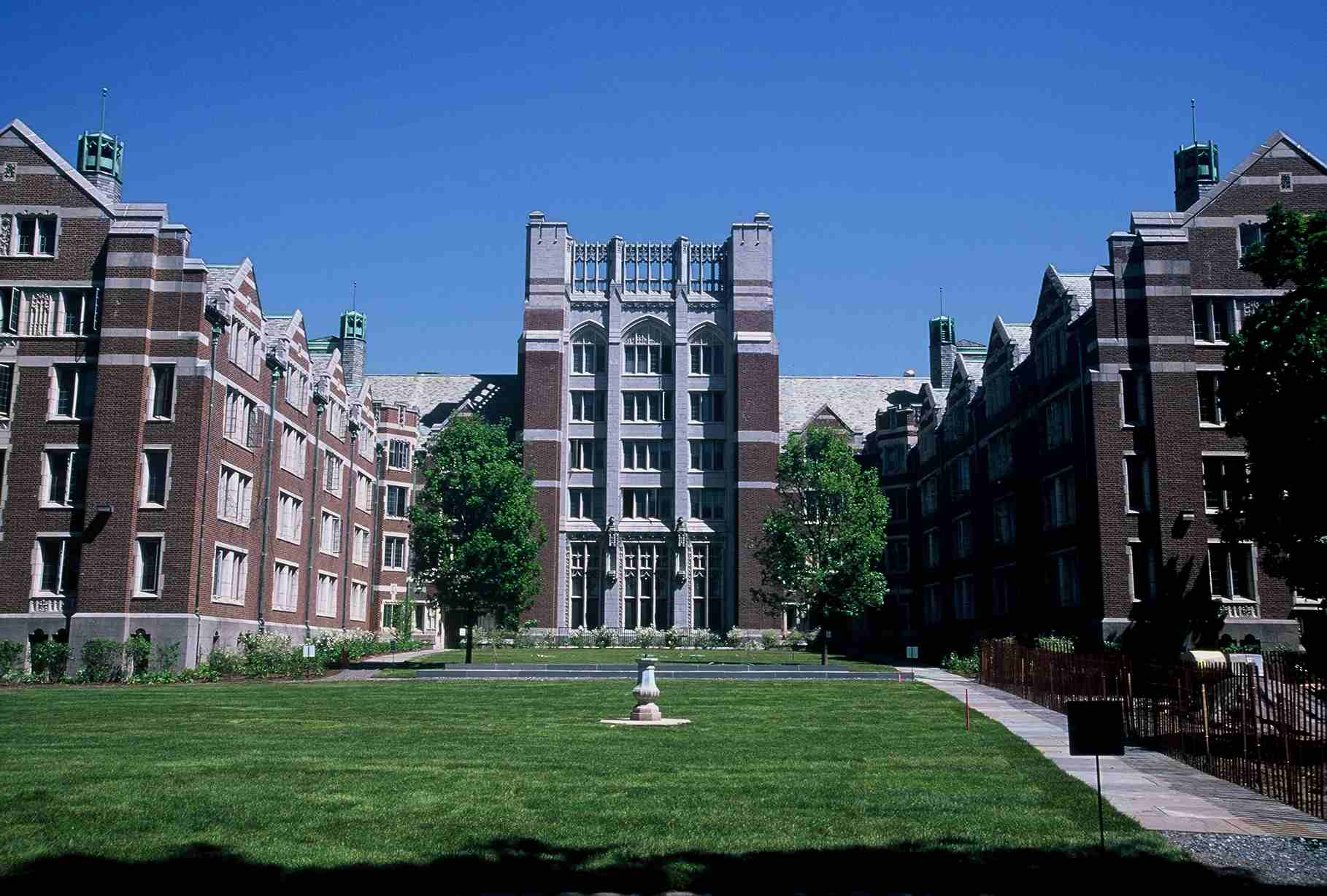 The Wellesley college dormitory