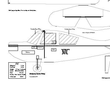 easy build rc radio controlled airplane plans